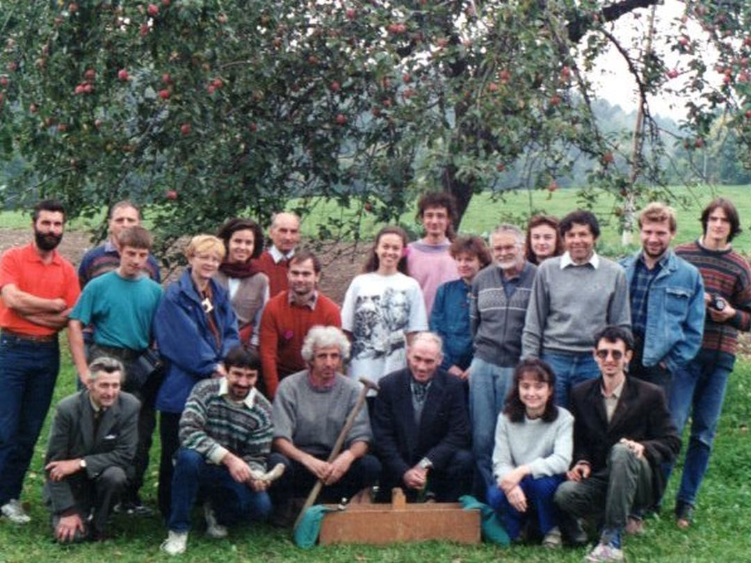 Účastníci preparátového semináře - společné foto