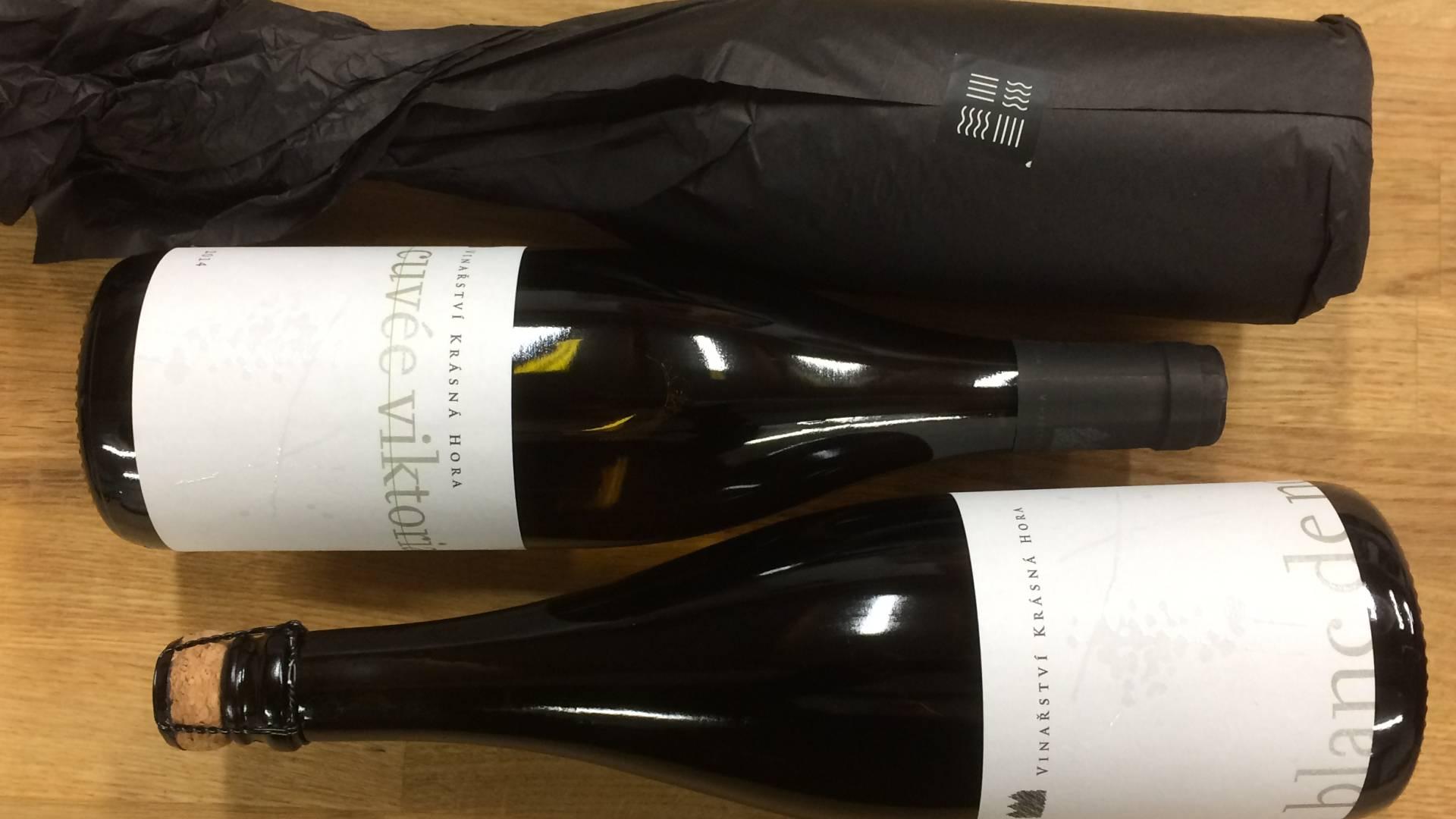Vína z produkce Vinařství Krásná Hora